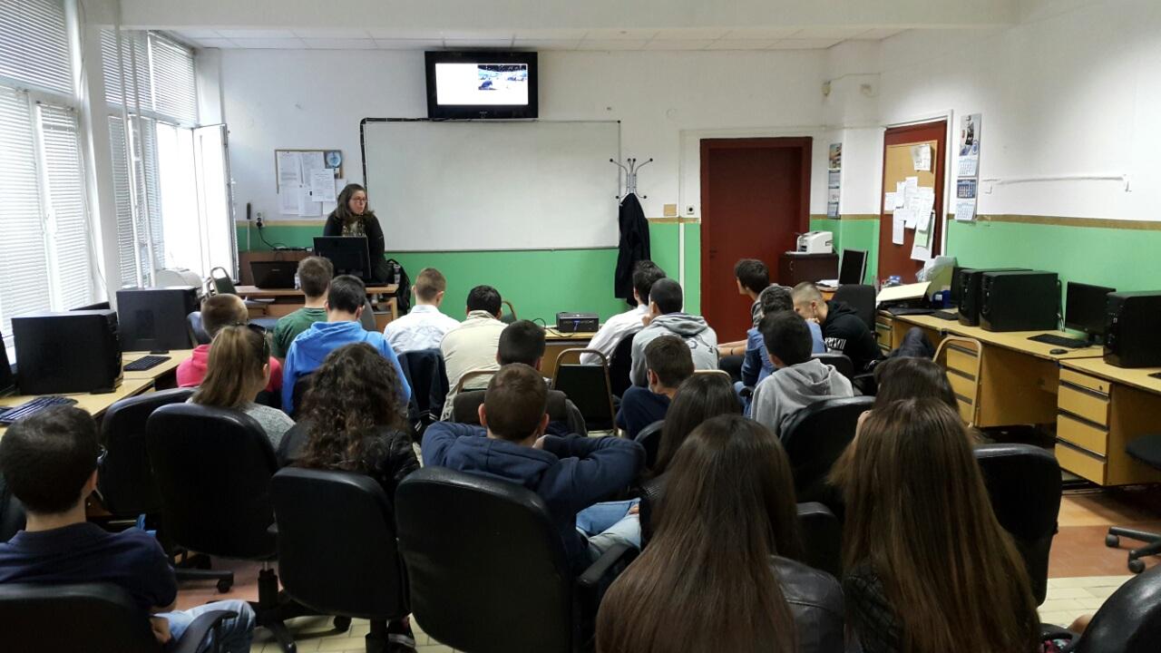 Лекция в Първа английска гимназия, 22.04.2016