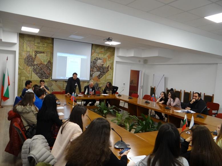 """Кръгла маса   """"Космическите науки и технологии, тяхното място и роля в средното образование в България"""""""